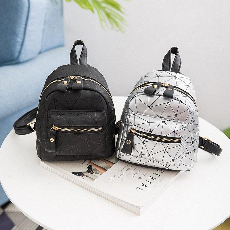mini-saco senhoras ombro estilo europeu e americano novos multifuncionais listrado senhoras de moda pequenas mulheres mochila mochila MUFb #