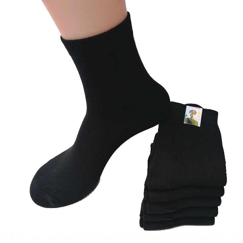 automne et en hiver nouvelles chaussettes en coton résistant à l'usure des sports protection du travail coton du tube moyen de protection épaissi augmentent kwQI5 kwQI
