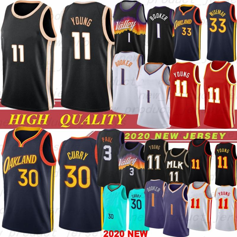 Hombres San Antonio Spurs NCAA Atlanta Hawks 11 Trae Young 10 DeMar DeRozan 5 Dejounte Murray 1 Jonathan Isaac 5 Mo Bamba Jerseys de baloncesto ORLANDO MAGIC 2020 Hot