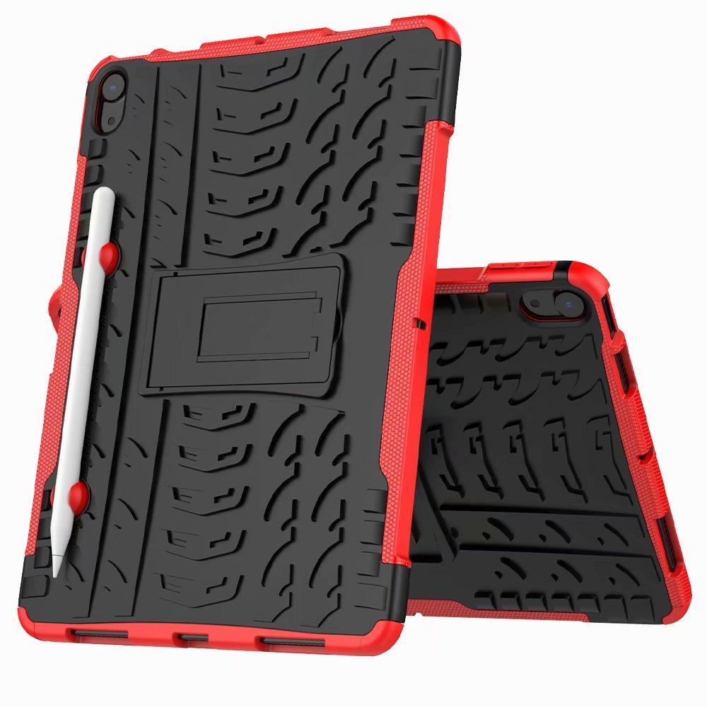 Robot 2 in 1 Kackstand Fact Fact Robusto TPU Heavy Duty TPU + PC Caso di copertura antiurto Ibrido per iPad Pro 9.7 Pro 10.5 iPad 2 3 4 Air 1 Air 2 100pc