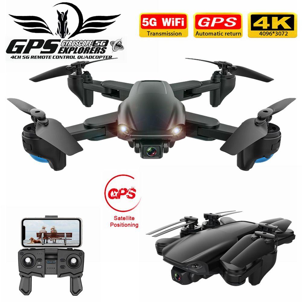 FEMA SG701 / 5G WiFi FPV 4K Çift HD Kamera Optik Akış Katlanabilir Quadcopter Mini Dron PK E520S SG907 201.015 ile SG701S RC GPS Drone