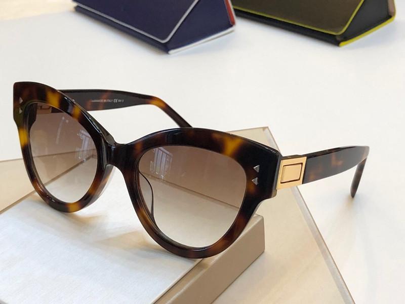 0266 Bayanlar Güneş Gözlüğü Moda Moda Çekici Kedi Göz Moda Üst UV Koruma Gözlükleri Yüksek Kaliteli Ambalaj Ile Geliyor