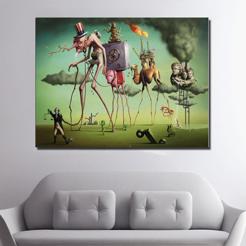 Paintings Salvador Dali Wall Art Posters And Prints Abstract Canvas Painting Pictures For Living Room Classic Cuadros Home Decor1