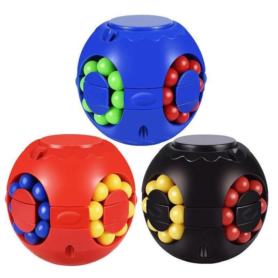 Magic Bean مكعب لغز مكعب الاطفال الاستخبارات اللعب اليد سبينر لعب الهدايا تململ سبينر سطح المكتب القمم