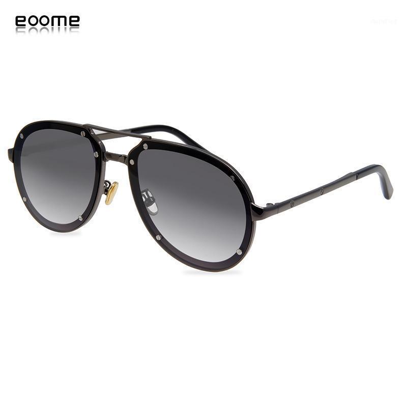 Óculos de Sol EOome Est Fashion Design 2021 Homens de Metal Luxo Sunglass de Alta Qualidade Forma Piloto UV 400 com Caso1