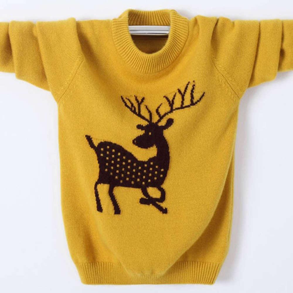 Damen Männer und 2019 mittlerer Neuschule Kinderkaschmir Pullover Rundhals Babys T-Shirt Solide Farbe
