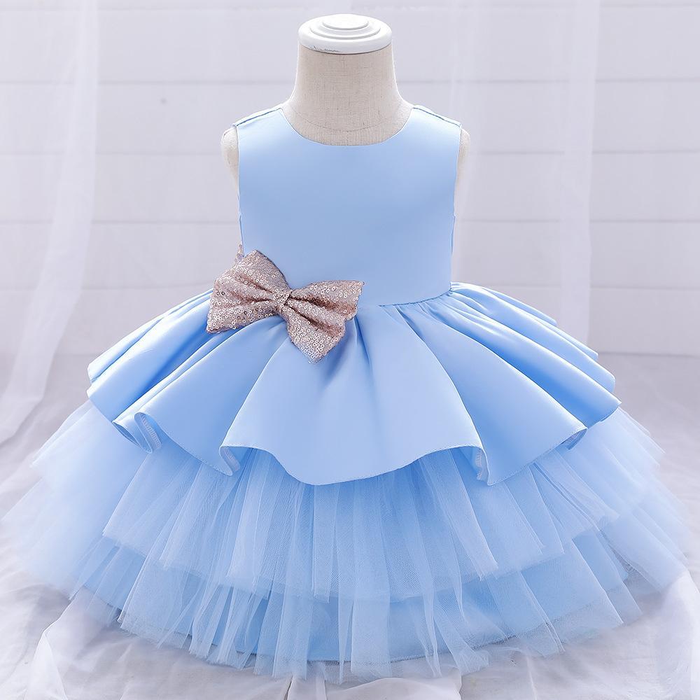Malla de las muchachas del vestido del bordado de la vendimia ceremonia de apertura del partido tutú ropa elegante llevar las princesa Dress Vestidos Niños