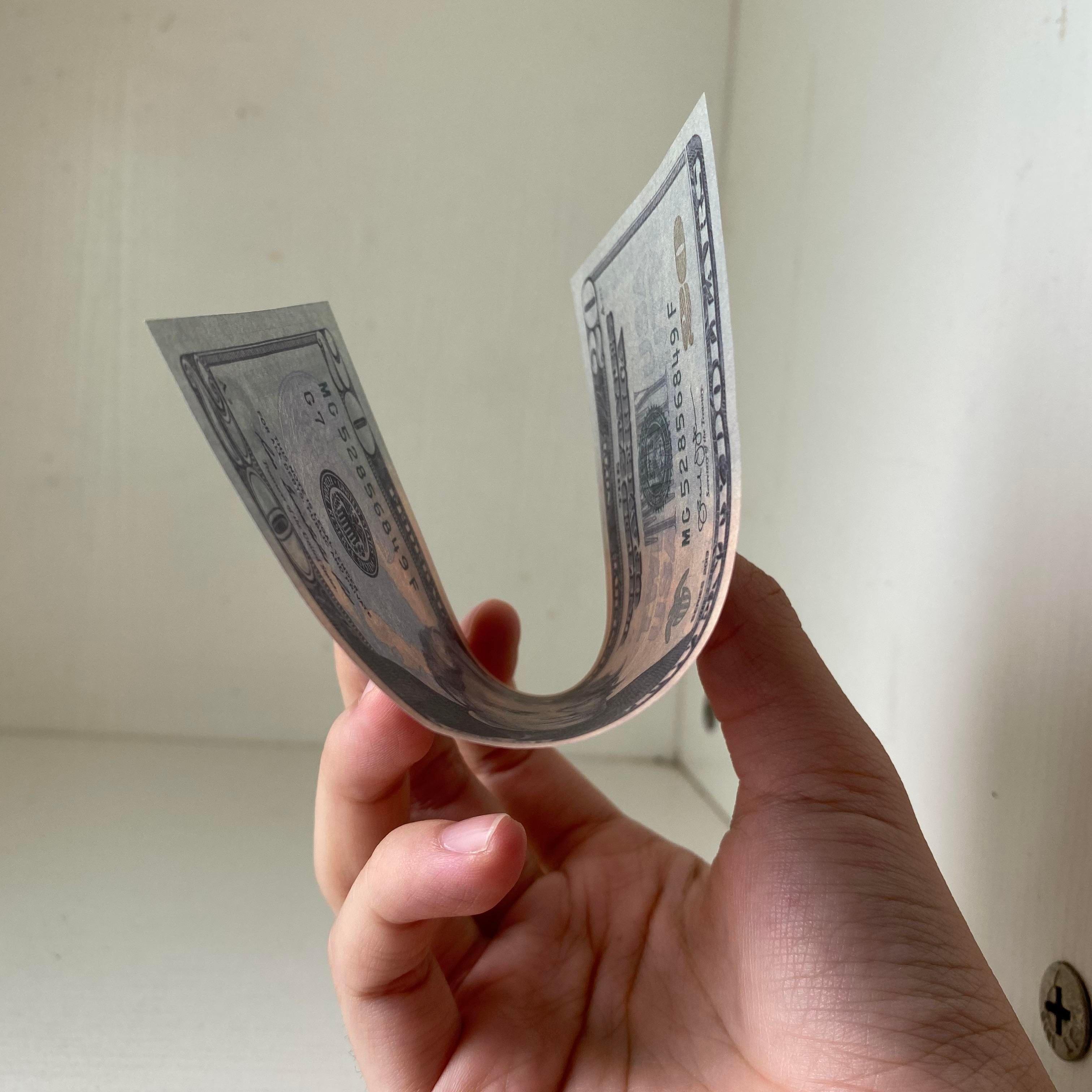 20 Prop Movie Geld Banknote Atmosphäre Nighclub Party 01 Gefälschte Geld-Dollar-Spielzeug Bühnenbügel 100pcs / Pack Dekoration qgsex