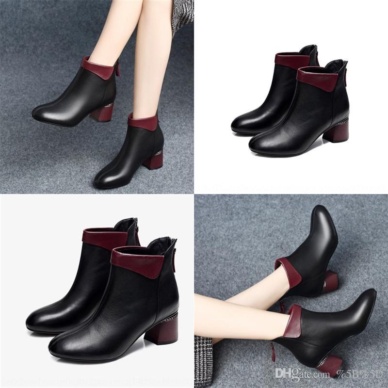 EW9G уникальный дизайнерские моды каблуки женские сапоги высокие шоу патентная кожаная кожа T каблука женские т