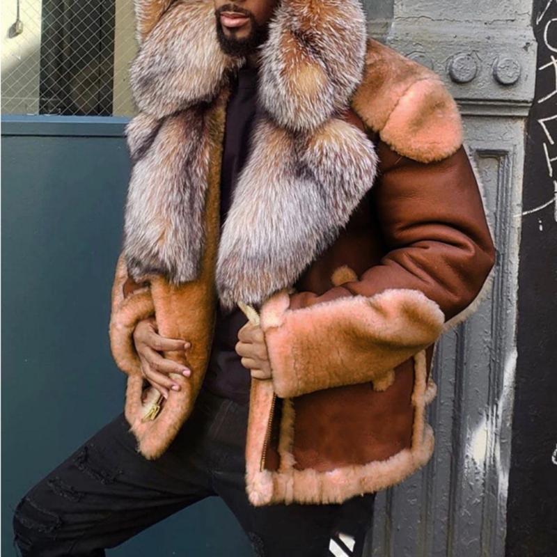Новая мода женская одежда толстая теплая зимняя зимняя ретро замша шерсть шерсть мотоцикл куртка ремень досуг свободные искусственные кожаные куртки
