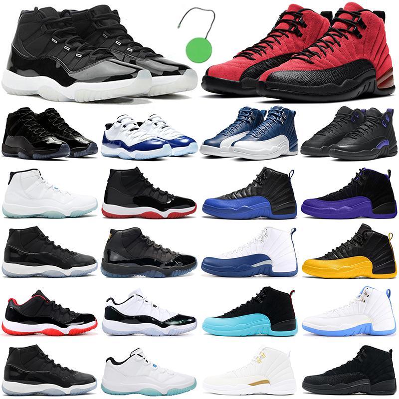 MensBasketballShoes 12s high OG jumpman 11s men women Concord 11 25th Anniversary 12 Reverse Flu Game womens outdoor sport sneaker