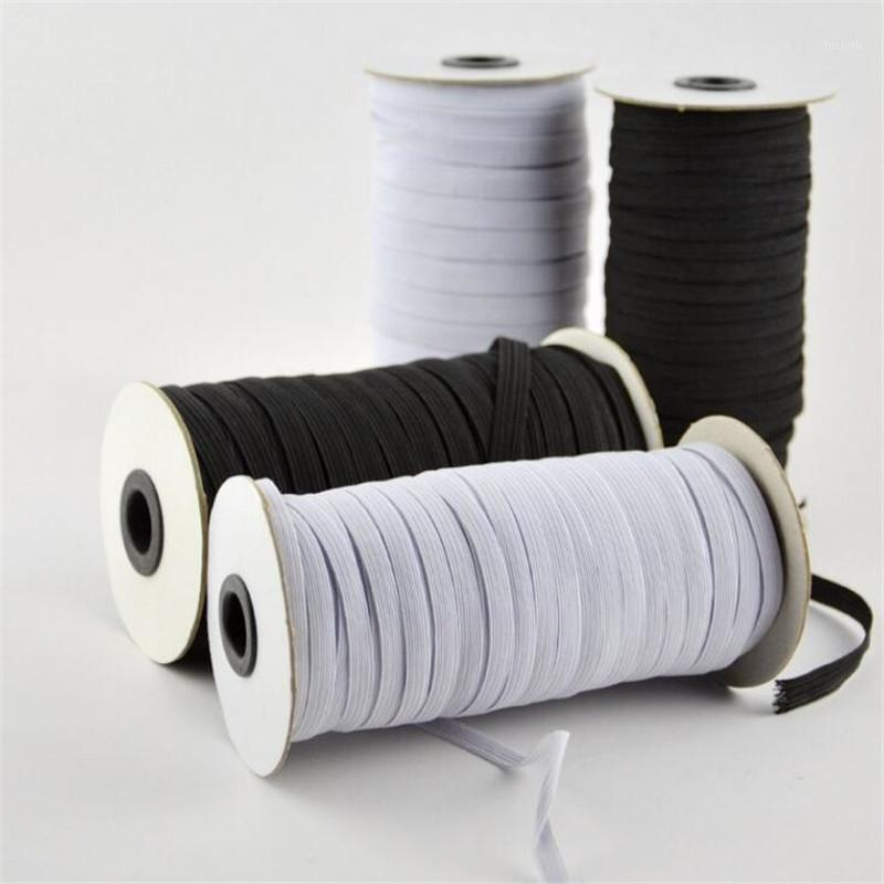 Notions de couture Outils de ménage 100 mètres Longueur 3mm / 5mm Largeur tressée bande élastique cordon tricot pour bricolage lit de couvre-lit1