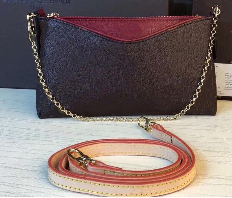 Sacs à main sacs de mode avec lettres Pallas Crochette Monos Dames Classic Fashion Sac Sac Soirée Sac à main Petit Sac à bandoulière