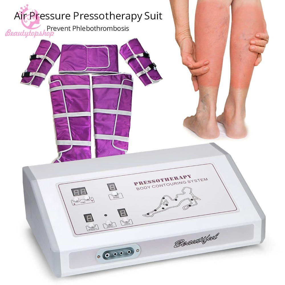 حار بيع التصريف اللمفاوي التخسيس بطانية الجسم تدليك الثدي ضغط الهواء بالطبيع آلة حرق الدهون لصالون سبا