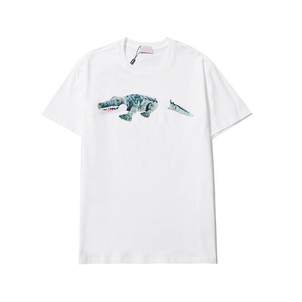21ss Yeni Erkek Kadın Tasarımcılar T Shirt Adam Moda Erkek T Gömlek Rahat T-Shirt Sokak Şort Sleeve 2020 Bayan Tişörtleri 2021