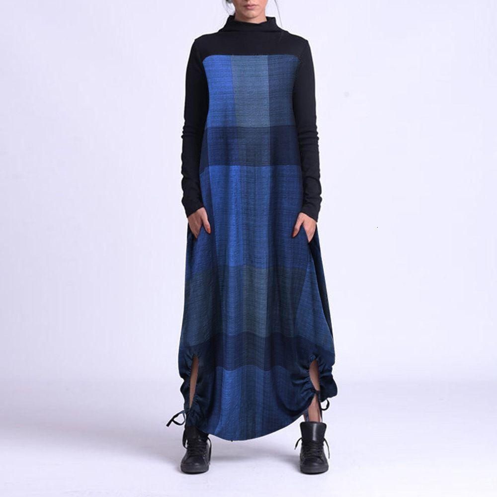 Nouvelle robe de manche de printemps et d'automne de longue durée