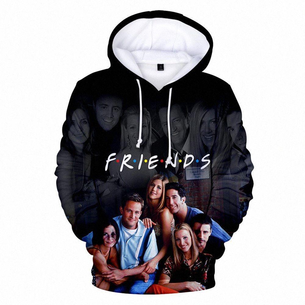 FRIENDS 3D Printed Hoodies women/Men TV Show I'll Be There for You Hoodie Sweatshirt Fashion Fleece Warm Jacket Coat 4XL Clothes Y2006 G8eg#