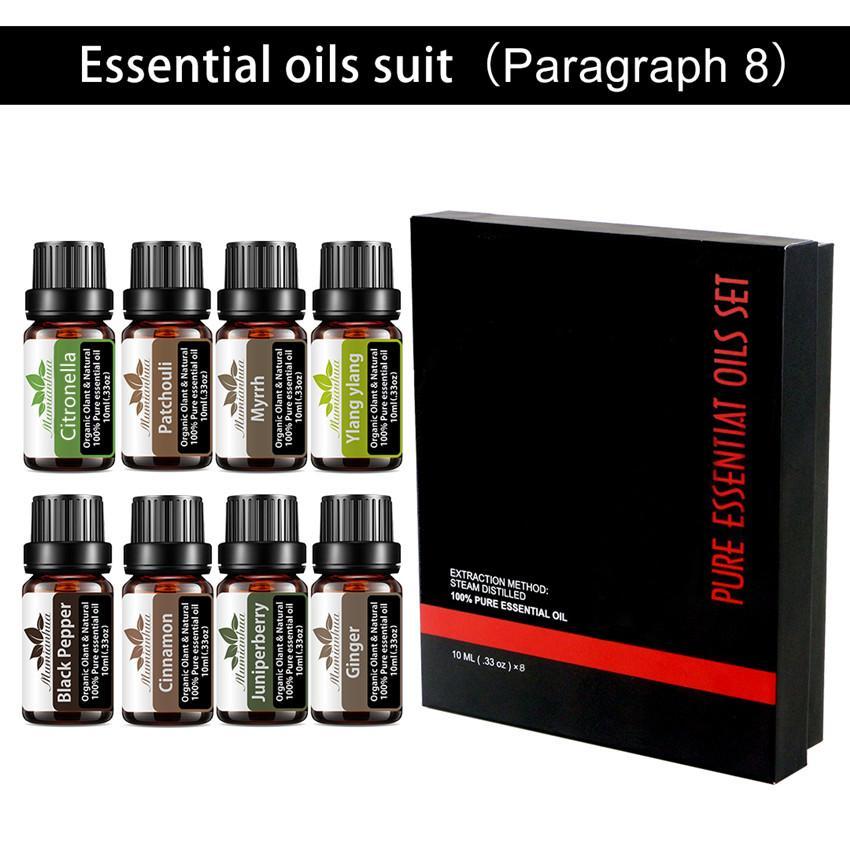 Catronella Pachouli روز الضروري النفط الفلفل الأسود النفط النقي الضروري للتدليك الروائح جزئية والسبا تدليك الجسم الكامل