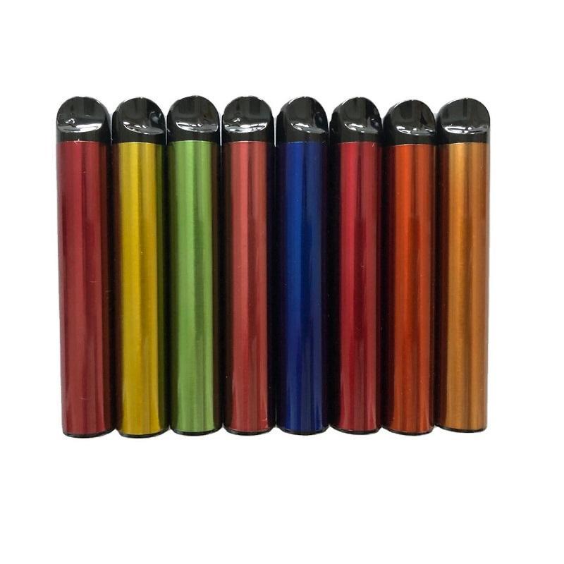 24 cor Bang XXL Dispositivo Dispositivo Dispositivo de Caneta de 650mAh Bateria 6ml PODs Prefilíficos Vapors Barra Puff mais XXL Dupla