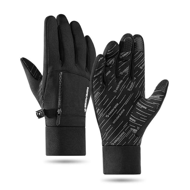 Warm Gloves Windproof Waterproof Cycling Mitten for Outdoor