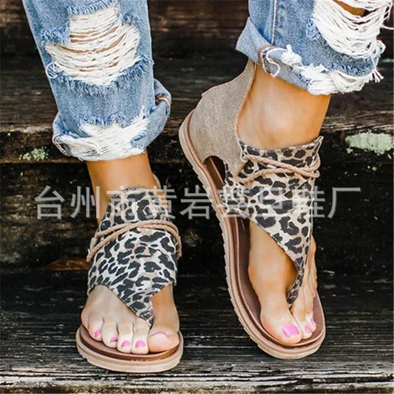 2020 New Women Sandals Fashion Flip Flops Shoes Roman Sandals Women Flat Shoes Summer Beach Ladies Leather Zapatos1