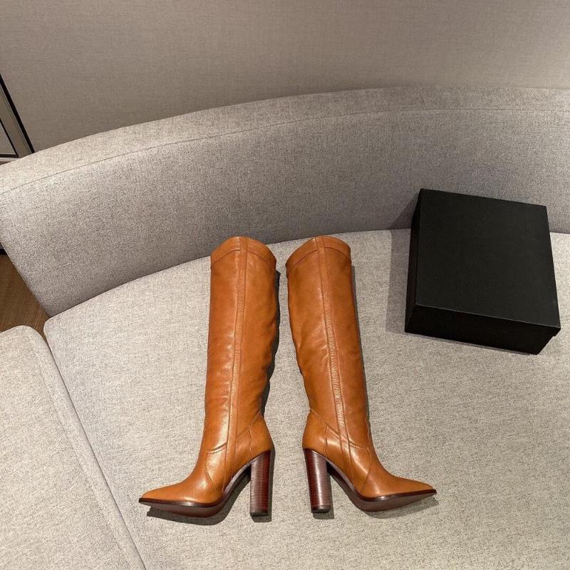 2020 Yeni Ayakkabı Kadınlar Boots Siyah Diz-yüksek Boots Seksi Kadın Sonbahar Kış Yüksek