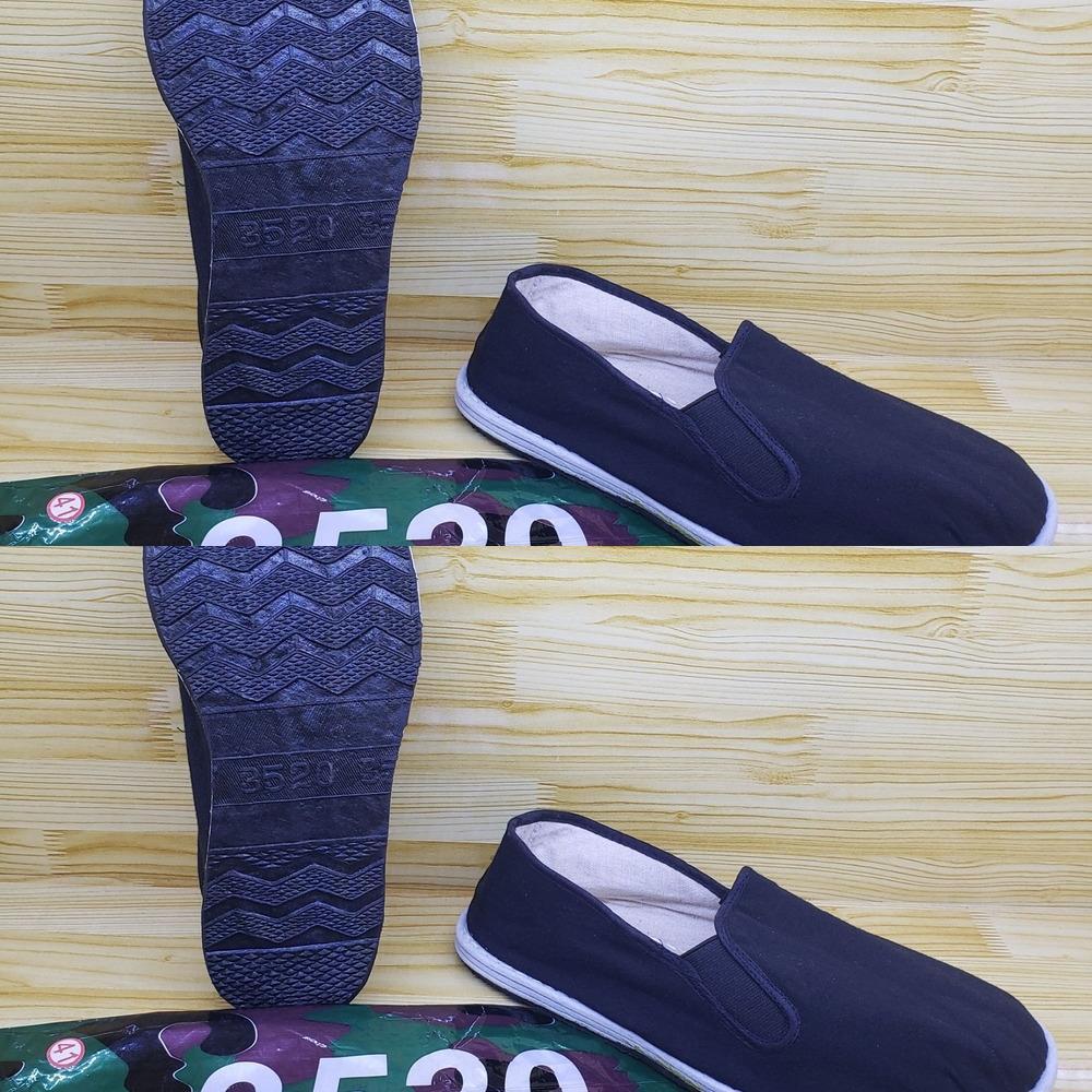 UPMUo Hommes 3520 armée vulcanisé de haute qualité unique bas chaussures tissu chaussures en tissu prix volume en cours d'exécution jeter des marchandises sur le marché de nuit