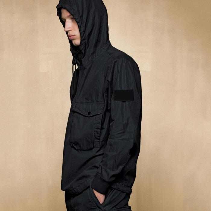 CP Topstoney Ceket Cyberpunk Rüzgarlık Moda Rahat Kazak Kış Erkek Ceket Uzun Kollu Streetwear Coat Boyutu M-XXL