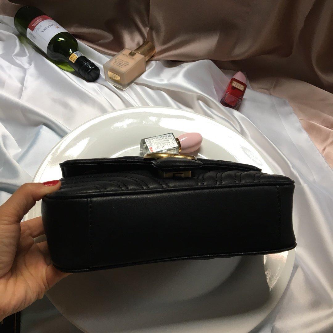 المرأة حقيبة جديدة حقيبة الكتف سلسلة حقائب الكتف نوعية جيدة الجلود الكلاسيكية حار بيع نمط السيدات حمل حقيبة