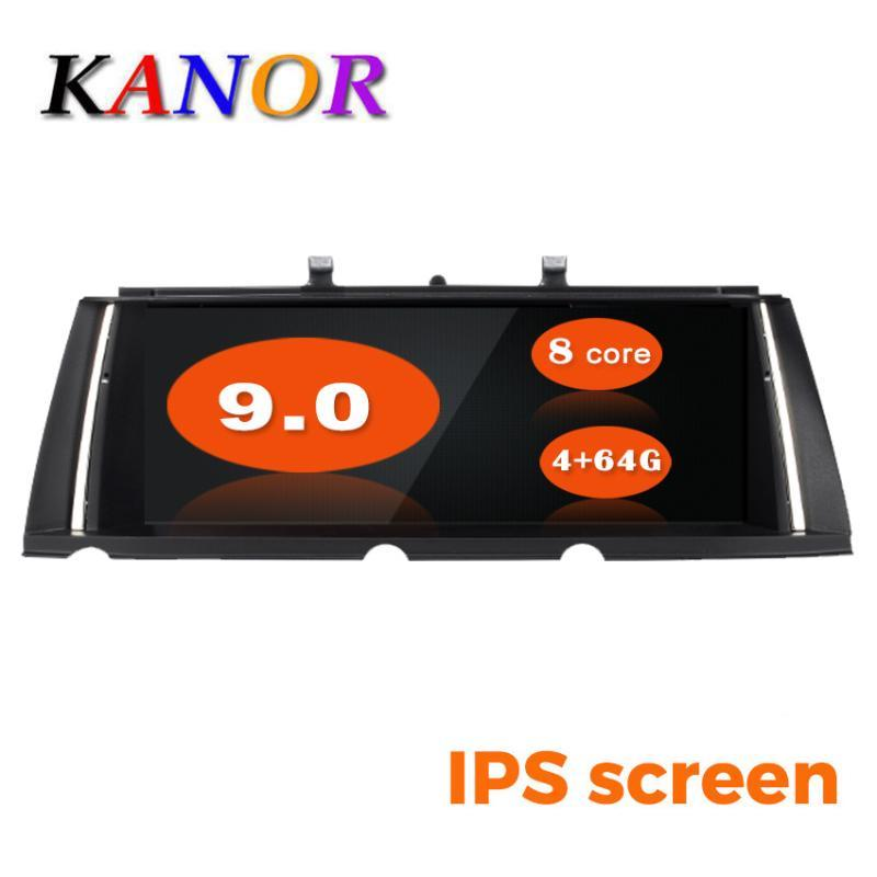 KANOR 10.25inch ID7 4G+64G Android 9.0 car multimedia player gps navigation for 7 Series F01 head unit car dvd