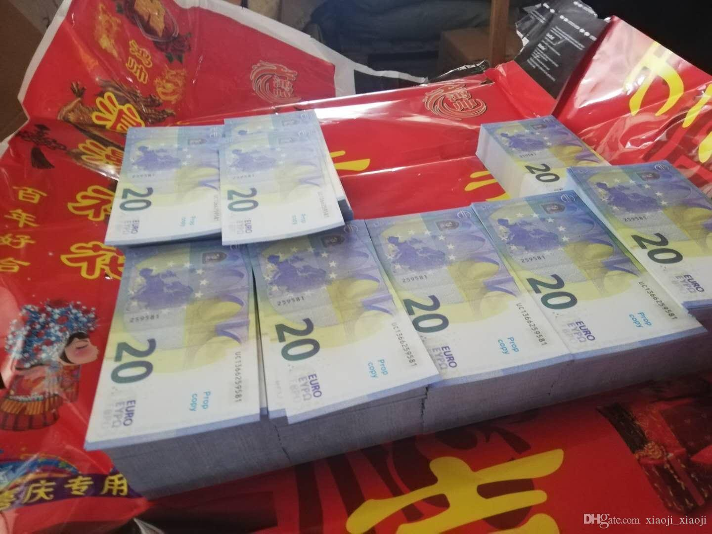 Movie Euro 967 Prop Money Banknote Money Currency Prop Party Fake Children Quality Best Toy Banknote Gift Ikmso