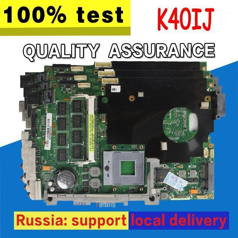 K40IJ Motherboard REV2.1 2G For Asus K40IJ X8DIJ Laptop motherboard Mainboard test 100% OK1