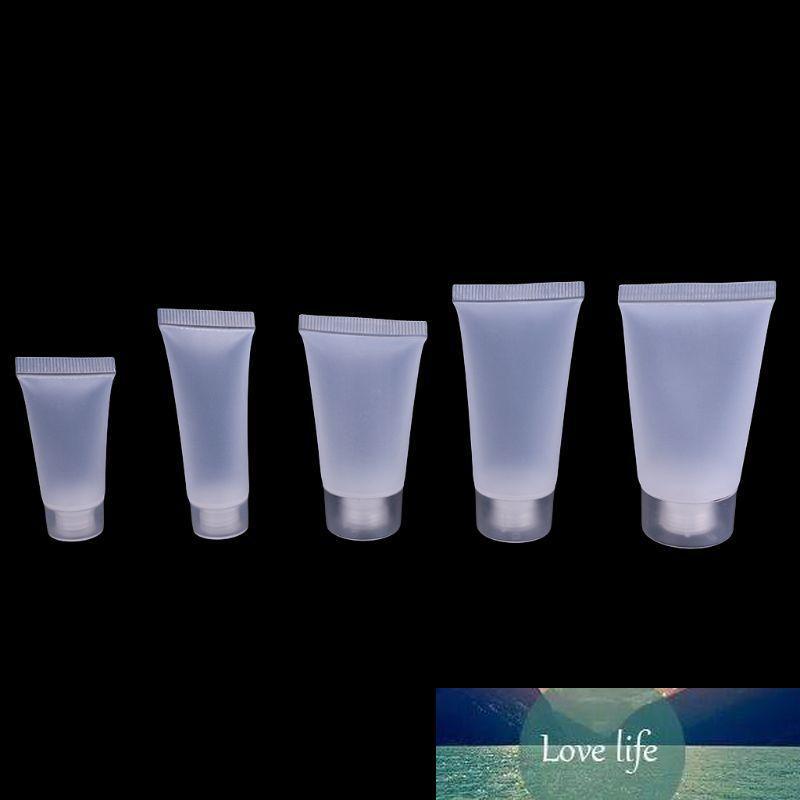 Leere Röhrchen Lip Gloss Balsam Klare Kosmetikbehälter 5ml-30 ml Kapazität Flaschen Reise Kunststoff 5-30ml Nachfüllbare Flaschen