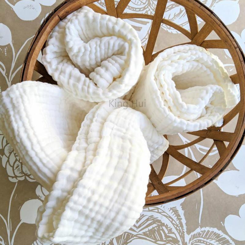 Couvertures bébé Neuf Manta Baby Couverture d'hiver Mousseline de mousseline Bain Swaddle Coton Swaddles Enapeaux 6 Couche1