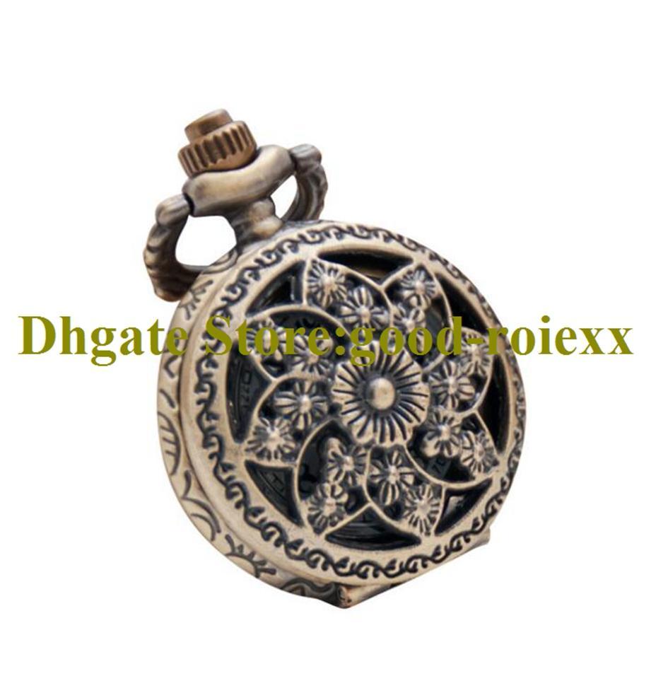 Forma octogonal mulheres mulheres relógio de bolso colar acessórios camisola cadeia senhoras pendurado mens relógios bolso aa00177