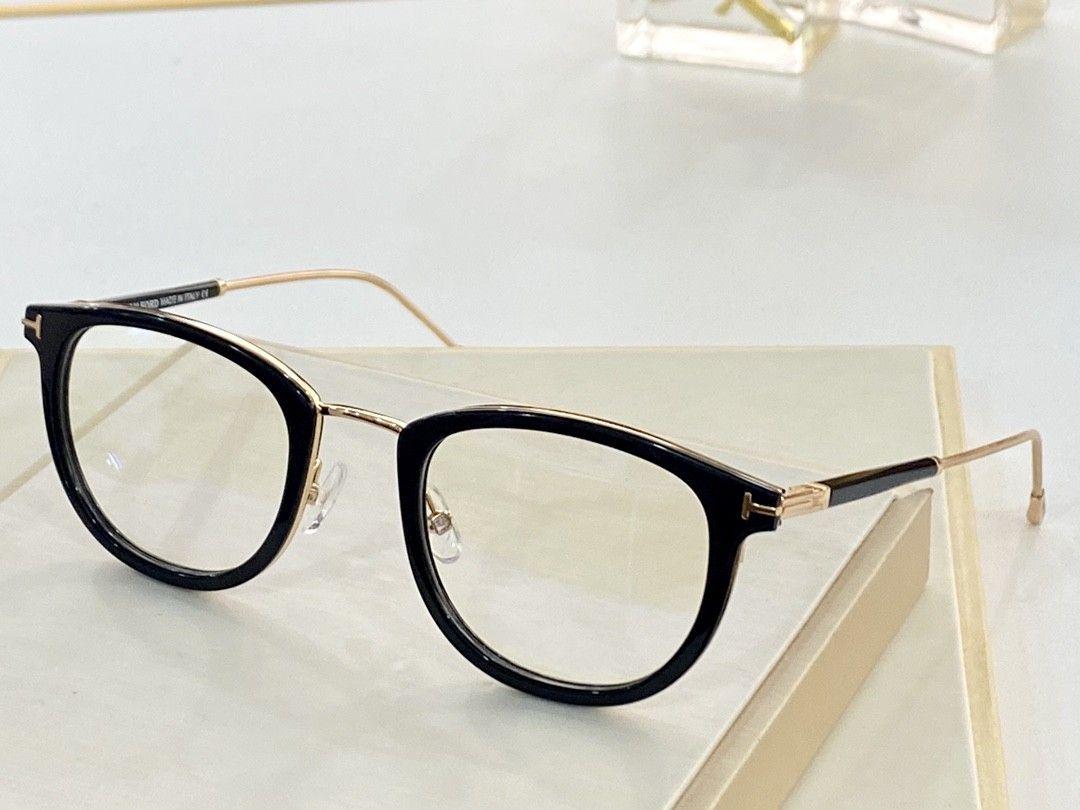 Blocco per grafici GRAU e Occhiali da vista Cornici trasparenti Donne retrò Myopia Occhiali da vista Occhiali oculos de Ao mens 5612 Donne Myopia Lense Uomini Jseen