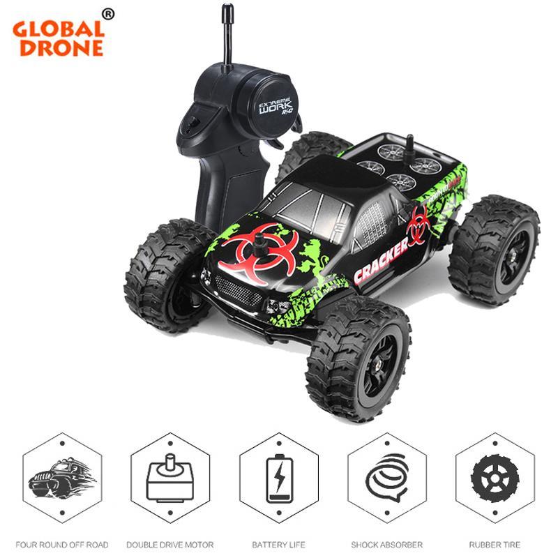 Fernbedienung Auto 2.4G 1/32 Off Road Auto Crawler Buggy Radio Controllt Autos Mini Coche RC Auto Spielzeug für Jungen Geschenke für Kinder 201103