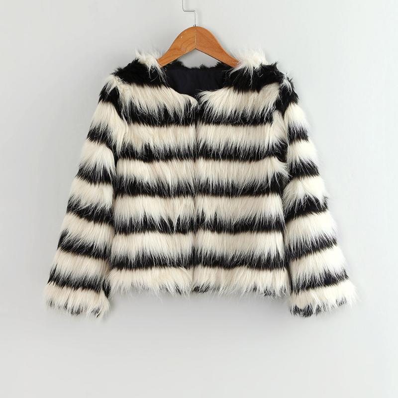 ARLONEET Çocuk Kız bebekler Kürklü Faux Kürk kalınlaştırmak Coat Şelale Kış Sıcak Giysiler Beyaz Taklit kürk Kalın Splice Coat Dış Giyim CO18 '
