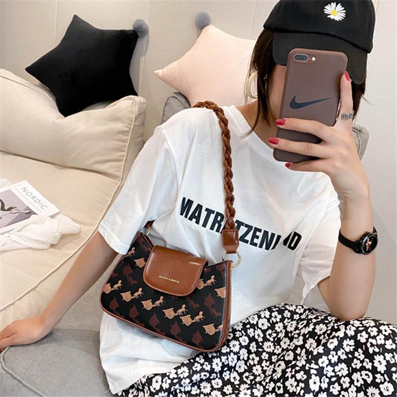 Heißen Verkaufs-Frauen-Tasche für Frauen-Beutel für Frauen Frauen-Mode Retro-Schulter 2020 New Achsel