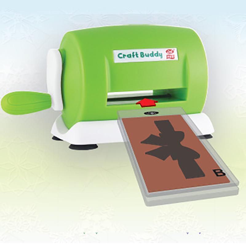 Pratique Bricolage Artesanat estampés machine créative papier en plastique de coupe Artisanat embosser machine Scrapbooking Album Outils de coupe Q1114