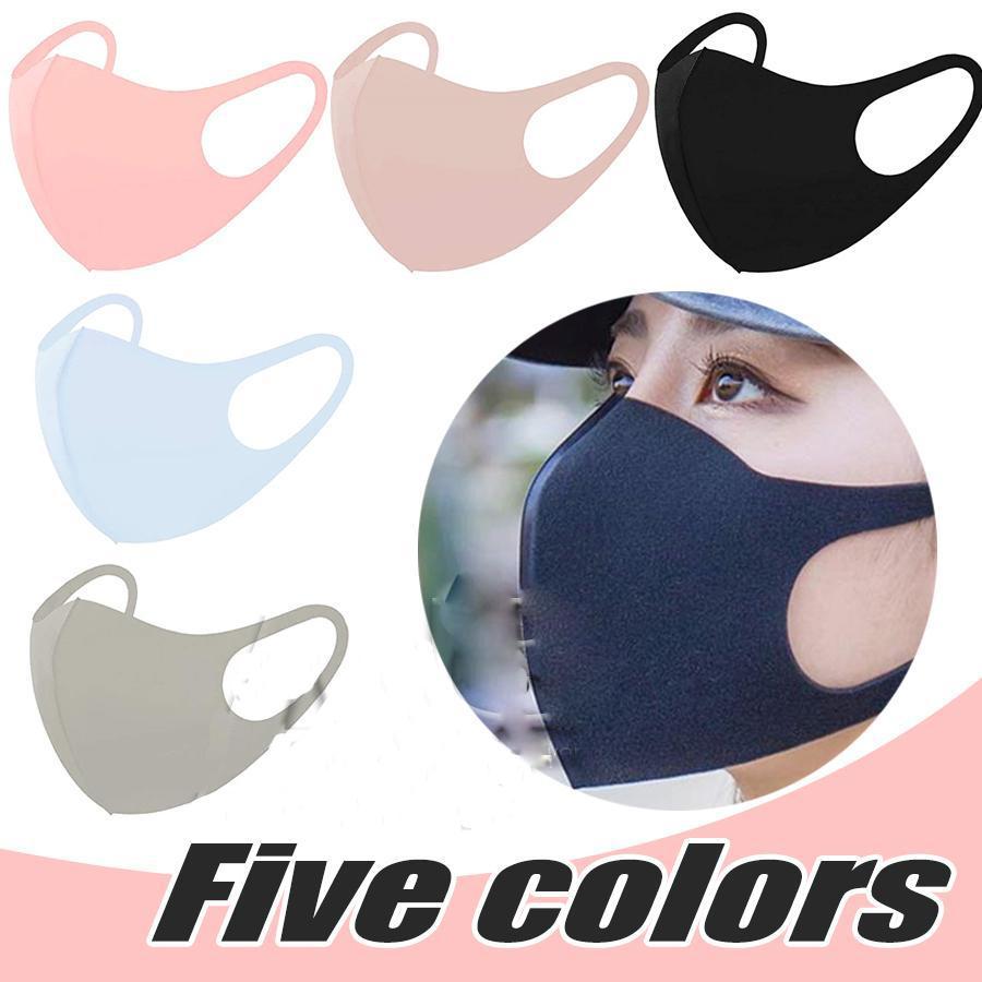 Anti Staub Gesichtsmundschutz-Maske Respirator Staubdichtes Antibakteriell Waschbar Wiederverwendbare Ice Silk Cotton Masken Werkzeuge vorrätig