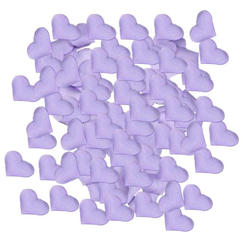 BGCS-100 x confeti del corazón - fiesta de la boda Corazones Espolvorear fabuloso Tabla confeti dispersión Decoración