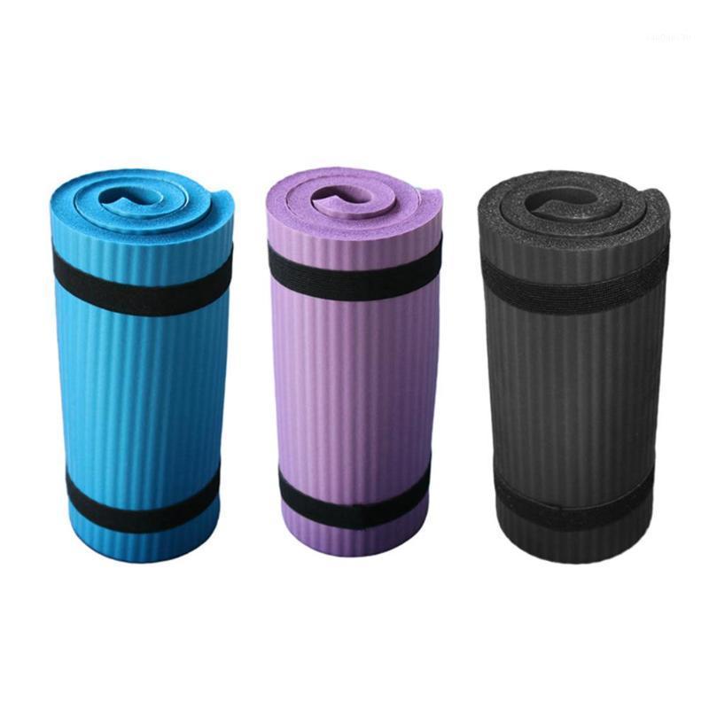 Tapis de yoga épais NBR Yoga Pad pour la formation d'entraînement Abdominal Sportable Effectable Tapis Tapis à plateau Tapis de coude avec rembourrage en mousse1