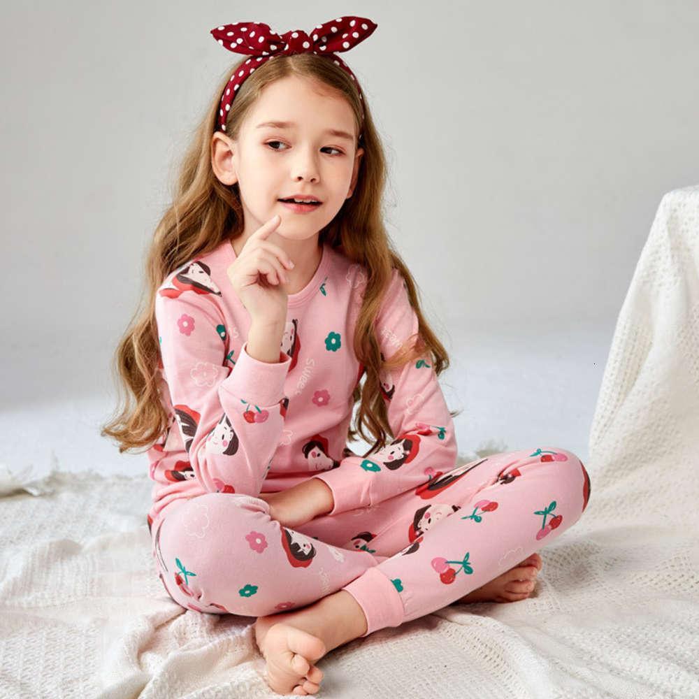 Kleidung Frühling Warme Jungen und Mädchen Tuch Herbsthose Kinderunterwäsche Set Reiner Baumwolle Baby