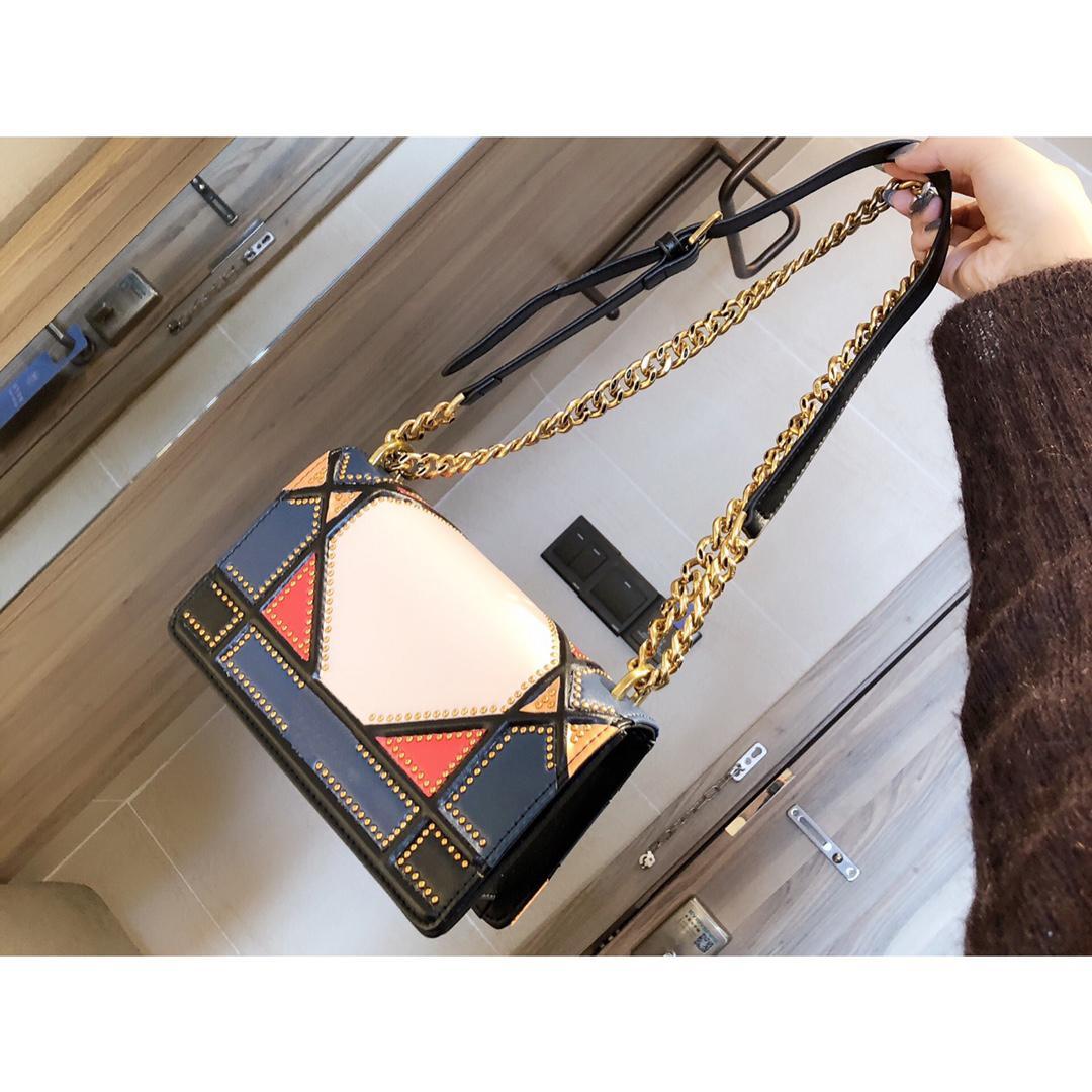 sacos Bandoleira clássicos bolsas mensageiro sacos de alta qualidade para mulheres bolsa de ombro mulheres boutique saco de compras 22cm