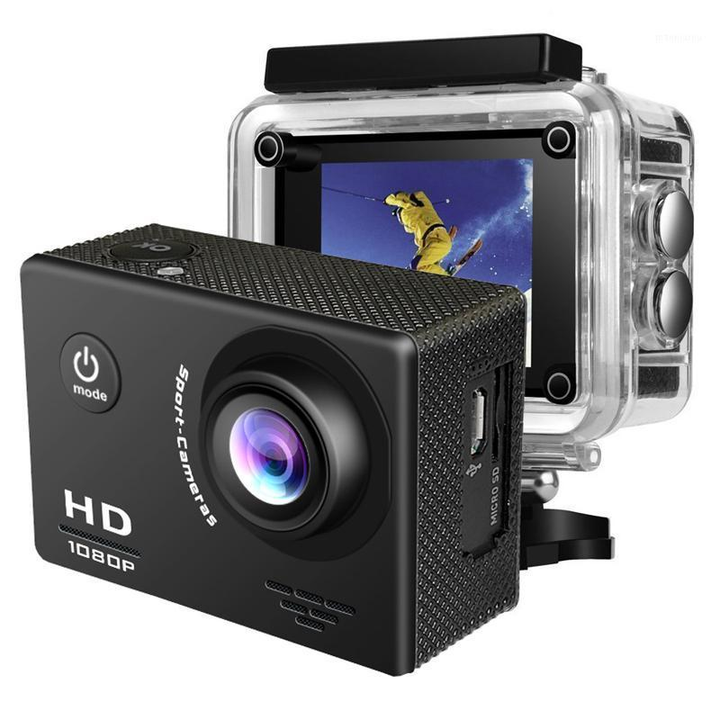 "HD 1080P Action Camera 2.0"" LCD Screen 140D Angle Go Underwater 30M pro Waterproof Camera Sport Video Recording Cameras1"
