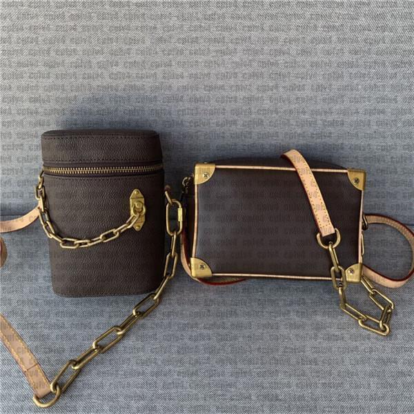 2020 crossbody bags for women M68906 Genuine leather women twist handbag messenger shoulder bag pockets Totes Shopping bags Backpack handbag