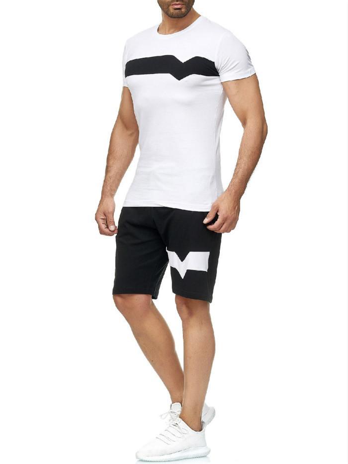 2020Tracksuits Hommes Shorts Sets Estivaux Costumes Vêtements de Hombres T-shirts manches courtes Shorts