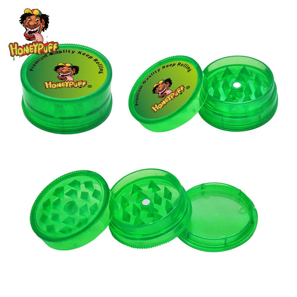 Honeypuff Premium Magnetic Plastic Tabacco Терб Герб 40 мм 3 Слои Острые Акула Зубы Акриловые Специи Миллер Дым Травяная дробилка Миллер