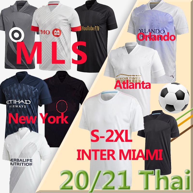 20 21 ملز La Galaxy Soccer Jerseys ميامي FC مينيسوتا العاصمة نيويورك ريد أورلاندو سيتي أتلانتا مونتريال تأثير كرة القدم